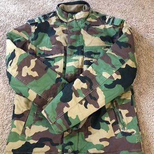 All-Son Camo Jacket